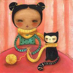 Tejiendo il-lustracio: Danita Art  too much is too much