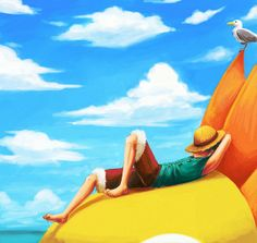 Tags: Anime, ONE PIECE, Monkey D. Luffy, Straw Hat Pirates, Thousand Sunny