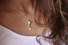"""I do love the Tiffany's keys/lockets with the """"tiffany blue"""""""