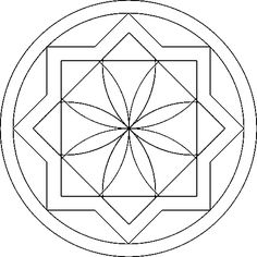 Coloring Page - Mandala coloring pages 27