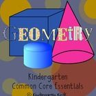 Be assured that you are teaching the Common Core by using this Common Core Geometry Unit for kindergarten. There are two lesson for each geometry standard.