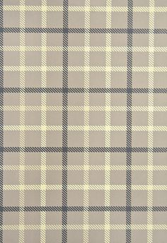 Stephen Plaid Wallpaper Grey/Brown plaid wallpaper with cream, gold and charcoal check.