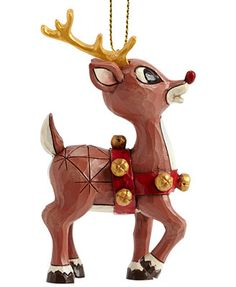 Jim Shore Rudolph Ornament. Antonio 2014