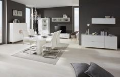 Esstisch in Weiß Hochglanz online kaufen ➤ mömax Dining Table, Furniture, Home Decor, Dinner Room, Dinning Table, Food, Interior Design, Dining Rooms, Home Interior Design