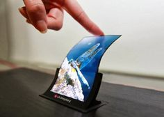 The first smartphone with flexible and curved screens may be revealed by the end of the month