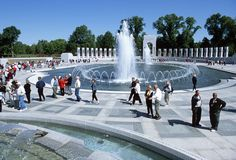 """The first national memorial to America's """"Greatest Generation"""" was dedicated in 2004 to the 16 million who served, including 400,000 who died in service."""