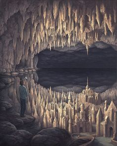 Painting by Rob Gonsalves