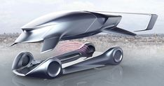 If Peugeot Made Flying Cars For The United Federation Of Planets, It Would Look Like This #Concepts #Flying_Cars