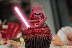 Darth Vader Rules the Galaxy (and the Bakery) as Star Wars Weekends Takes Cupcakes to the Dark Side
