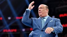 Former WWE employee reveals truth behind Paul Heyman's power behind the scenes - neroo news Eric Bischoff, Paul Heyman, Take A Shot, Wwe News, Wwe Superstars, Behind The Scenes, Two By Two, Suit Jacket, Take That