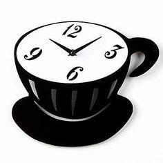 Reloj de pared Taza de Café |