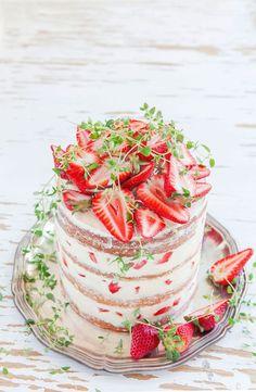 La tendance naked cake : le gâteau nu | cerfdellier le blog