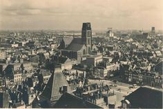 Rotterdam - Just before the bombing of May 1940.