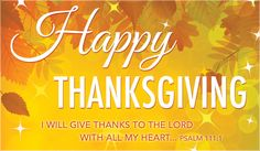 Wish you a Happy Thanksgiving Day to all.