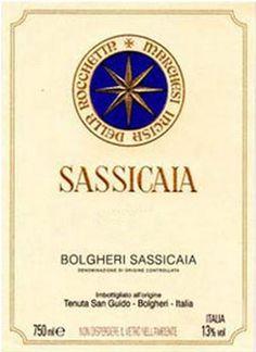 2009 Tenuta San Guido Sassicaia Bolgheri, Tuscany, Italy  97pt. 115 pounds