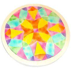 Handcrafted Mosaic Mandala Tray Puzzle - Air