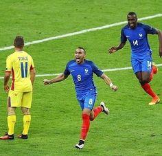 Selebrasi gol dari #Payet #France #cetakgol