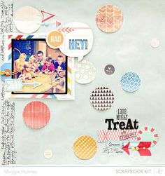 Late Night Treat by maggie holmes -Studio Calico April Kits