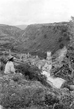 """""""Hacienda La Fortaleza de San Miguel Regla, vista superior"""" 1920"""