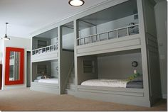 How Cool is this... Four beds