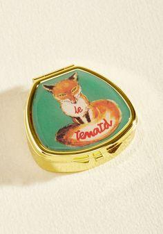 Kiss and Belle Lip Balm in Fox | Mod Retro Vintage Cosmetics | ModCloth.com