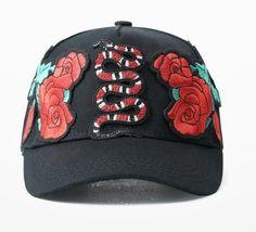 New Arrive Baseball Cap Unsex Harajuku Flower Rose Print Hip Hop Hat