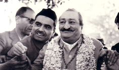 Eruch with Meher Baba.