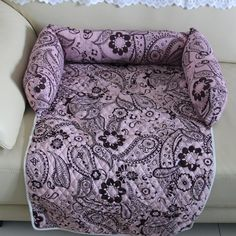 """Type: Dog Cover Feature: Breathable Material: 100% Cotton Pattern: Print S: 27.9""""x17.11""""x4"""" M: 33.7""""x23.10""""x4"""" L: 55.2""""x27.9""""x4.11"""" XL: 57.1""""x33.7""""x4.11"""""""