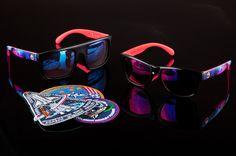 6f141ba2bb38 Heat Wave Visual Hyper Space Custom Sunglasses Heat Wave Visual, Latest  Sunglasses, Sunglasses Online