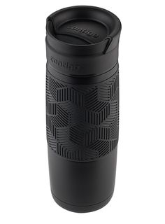 Contigo 74171 Autoseal Transit Water Bottle, Plastic, Opaque White with Periwinkle Stainless Steel Travel Mug, Black Accents, Periwinkle, Matte Black, Water Bottle, Mugs, Amazon, Tableware, Kitchen Dining