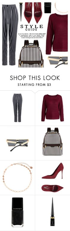 """""""Style Guide"""" by tasnime-ben ❤ liked on Polyvore featuring Henri Bendel, Sergio Rossi and Christian Louboutin"""