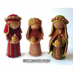 Christmas Crochet Patterns, Crochet Toys Patterns, Amigurumi Patterns, Crochet Dolls, Knit Crochet, Crochet Hats, Crochet Disney, Diy Christmas Gifts, Christmas Ornaments