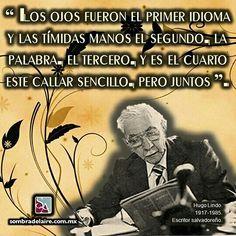 #EfemérideLiteraria En 1917 nace #HugoLindo, autor de #SinfoníadelLímite. #Literatura #Poesía www.sombradelaire.com.mx