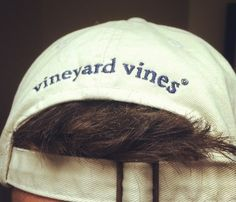 Vineyard Vines hat....boys this is a very good idea.