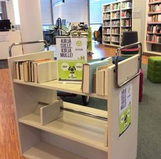 Kirja sulle, kirja mulle! Kirjojen kierrätyshylly Tikkurilassa, lukemista kylmeneviin iltoihin!
