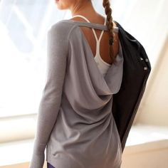 lululemon {Unity Pullover} Time for some new workout attire Mode Style, Style Me, Gym Style, Urban Outfit, Workout Attire, Workout Wear, Post Workout, Workout Tops, Moda Fitness