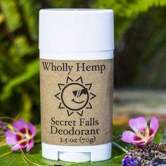 All Natural Hemp Deodorant by Wholly Hemp, $5