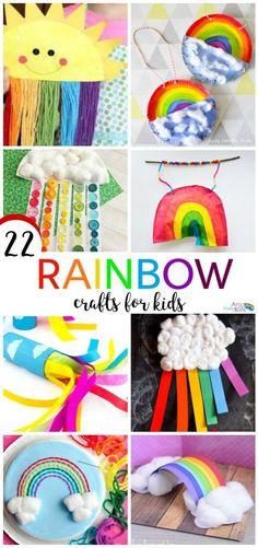 Arty Crafty Kids | Craft | 22 Rainbow Kids Crafts