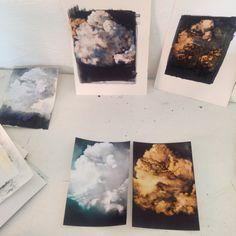 Robyn Penn studio 2014 Artwork