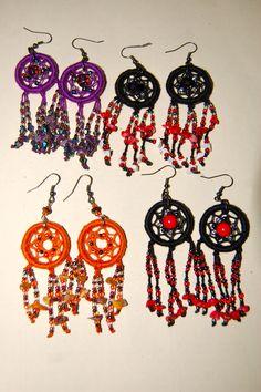 Dangled Dreamcatcher Earrings
