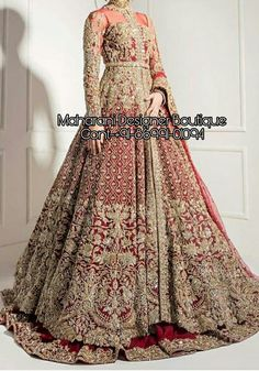 Buy Gowns For Indian Wedding Reception | Maharani Designer Boutique