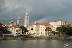 Colonial Singapore, View of the Arts House and Asian History Museum. 10 Cool Things to Do In Singapore  ---> http://www.confiscatedtoothpaste.com/cool-things-to-do-in-singapore/