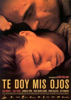 """Dirigida por ICIAR BOLLAÍN (2003). Una noche de invierno, Pilar sale huyendo de su casa. Lleva consigo apenas cuatro cosas y a su hijo Juan. Escapa de Antonio, un marido que la maltrata y con el que lleva 9 años casada. Antonio no tarda en ir a buscarla. Pilar es su sol, dice, y además, """"le ha dado sus ojos"""". (FILMAFFINITY)"""