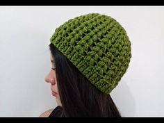Touca/Gorro Ponto Puff - YouTube