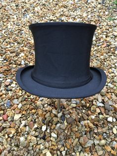 Vintage Collapsible Opera/Top Hat. by Vintage235 on Etsy