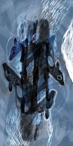 Balekane Legoabe   High School (2020) - digital art available for sale   StateoftheART Digital Collage, Digital Art, South African Artists, Blue Art, Affordable Art, Pet Birds, Online Art, Digital Illustration, Sculpture Art