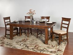 Tuscany 5-pc. Extension Dining Table Set #steinhafels