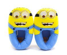 Pra ficar com os pés quentinhos: pantufa dos Minions, à venda na Americanas (R$ 99)