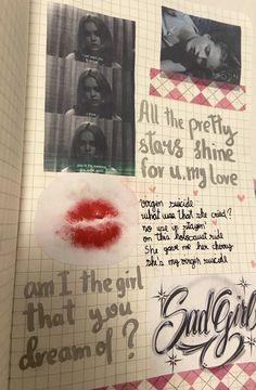 Junk Journal, Journal Pages, Journal Inspiration, Oblyvian Girls, Pretty Star, Art Diary, Arte Sketchbook, Journal Aesthetic, Scrapbook Journal