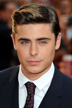 zac efron hair | Zac Efron's cool quiff - celebrity hair and hairstyles (Glamour.com ...